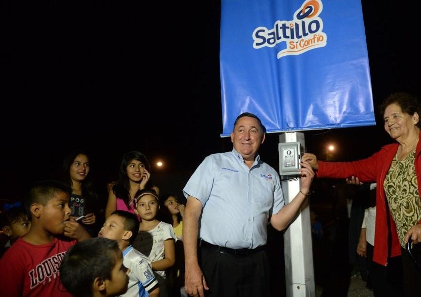 Más del 75% de Saltillo tiene nuevo alumbrado (1)