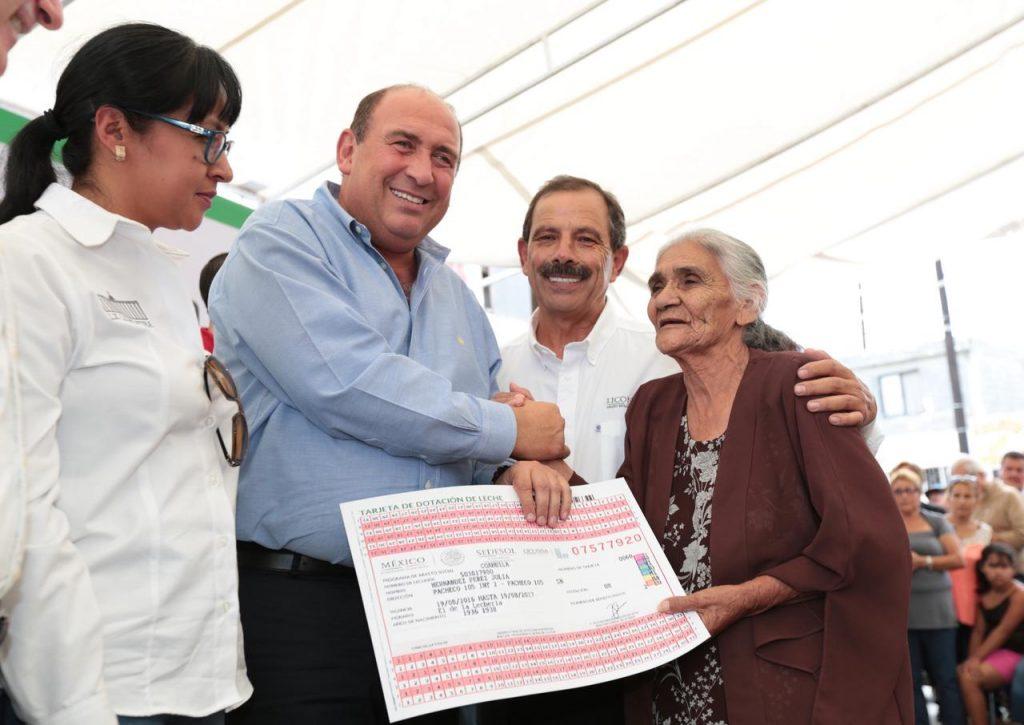 MÁS DE 65 MIL BENEFICIADOS CON PROGRAMA DE ABASTO SOCIAL DE LECHE