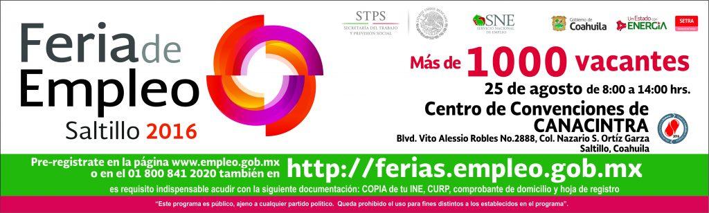 SETRa Feria Empleo (F217)_cintillo