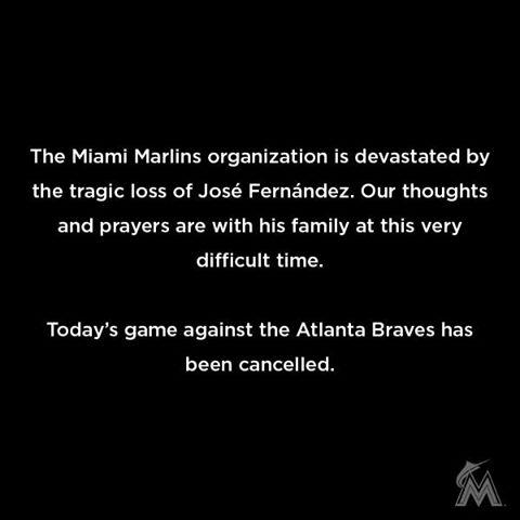 Muere en accidente lanzador cubano José Fernández