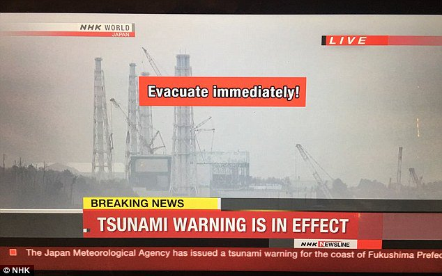 Terremoto de 7,3 sacude Fukushima y genera una alerta de tsunami — Japón