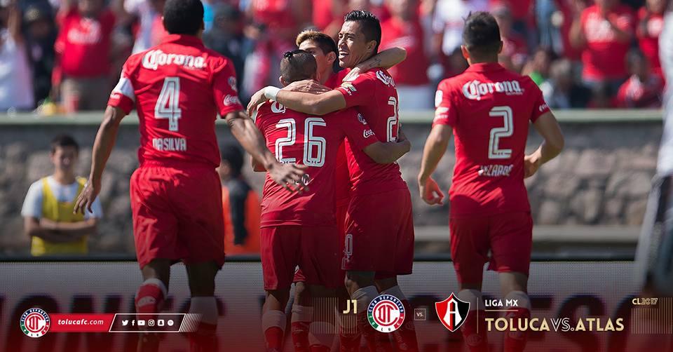 FOTO: Cuenta de Facebook Toluca FC