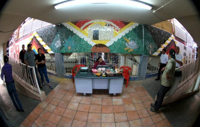 Casi lista primera etapa de murales del Mercado Juárez (4)