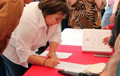 Tita Flores se registra como aspirante a precandidata para la alcaldía de Ramos1