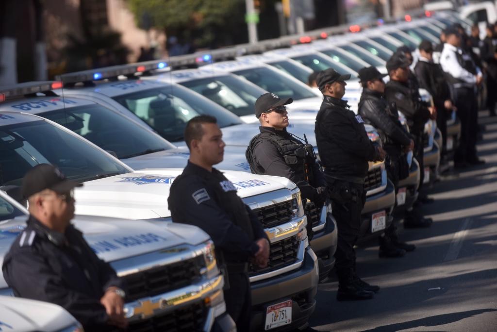 Un país sin suficientes policías — México