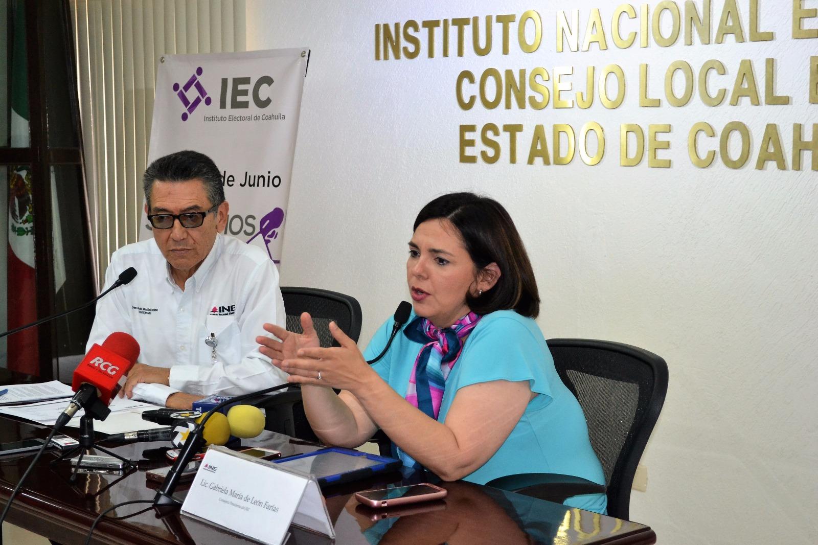 Llegan boletas electorales a Torreón Coahuila