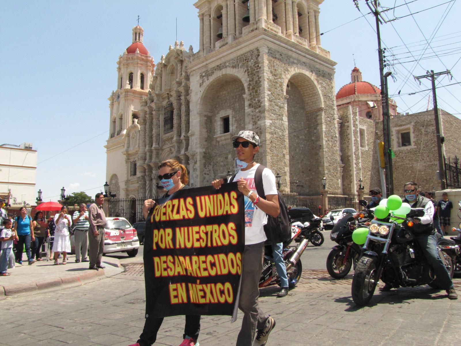 Caravana de búsqueda denuncia hostigamiento