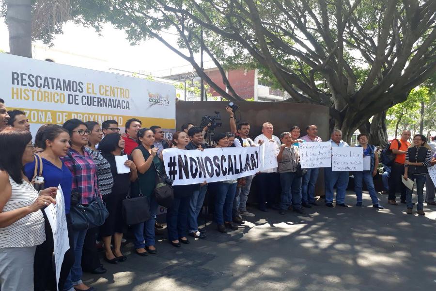 En México sale gratis asesinar periodistas: Adrián López