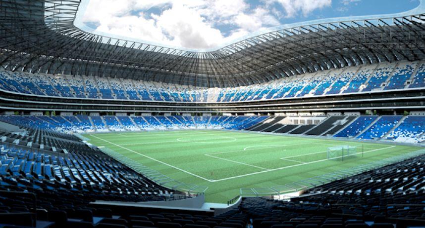 Estadio del Monterrey, posible sede del Mundial 2026