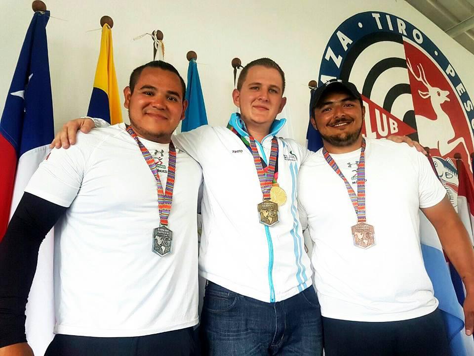 Dominio en Guatemala en el festival deportivo de tiro con arco