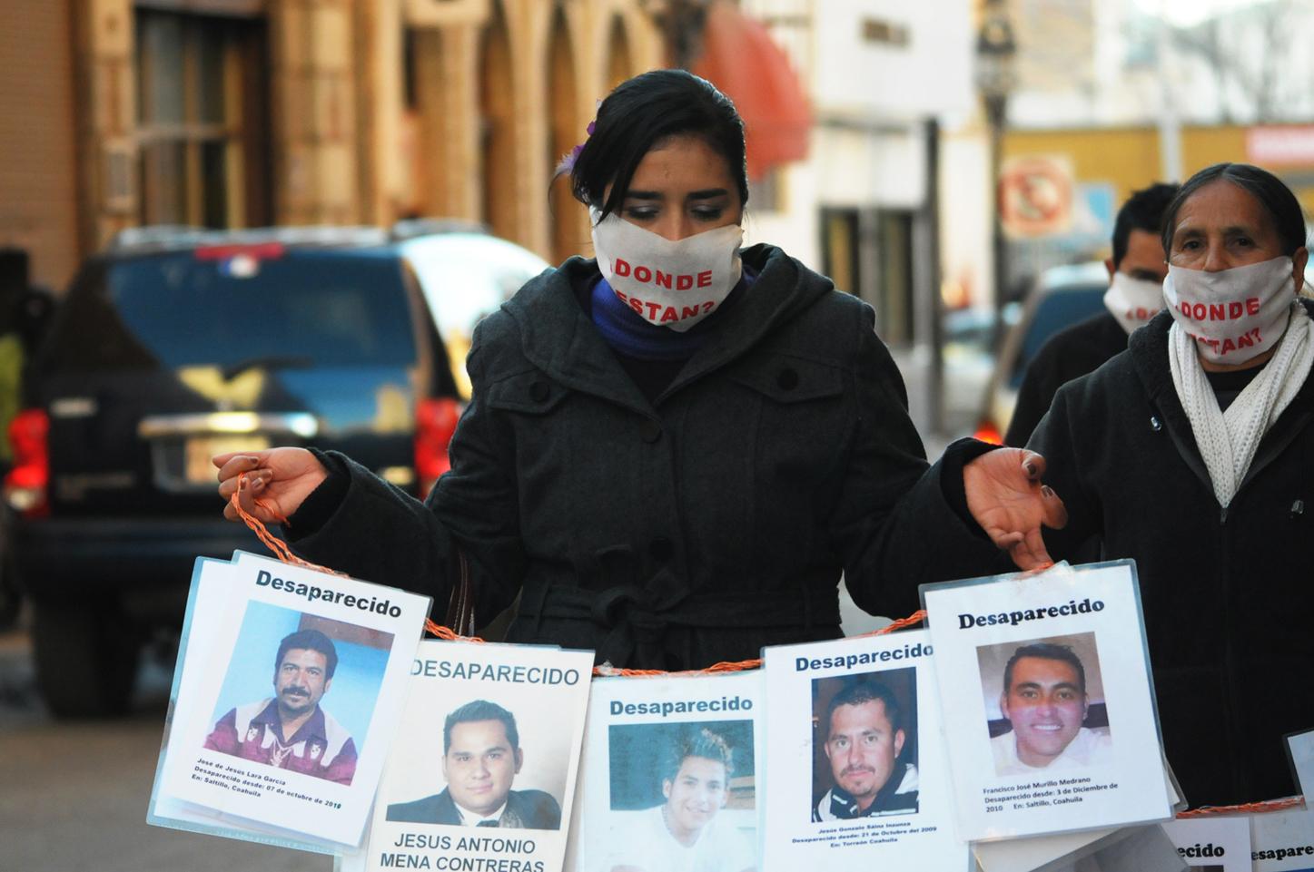 Inicia colecta de muestras de ADN a familiares de desaparecidos en Coahuila