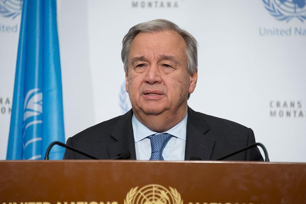 Guterres llama al diálogo entre Gobierno y oposición en Venezuela