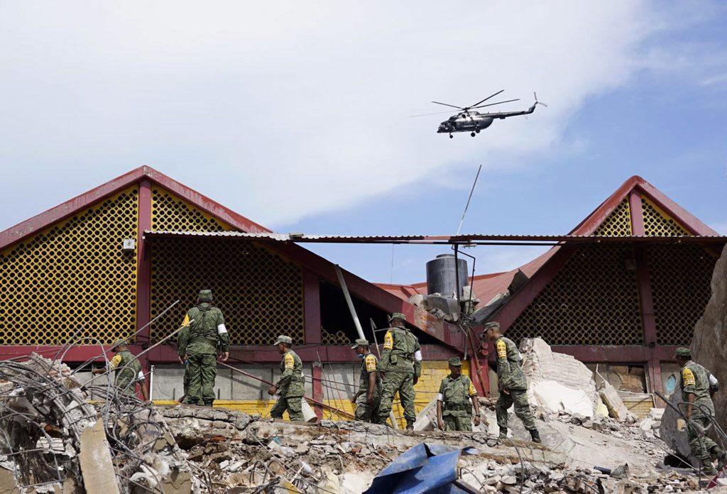 Réplicas por sismo de 8.2 no cesan; suman 928 hasta este domingo