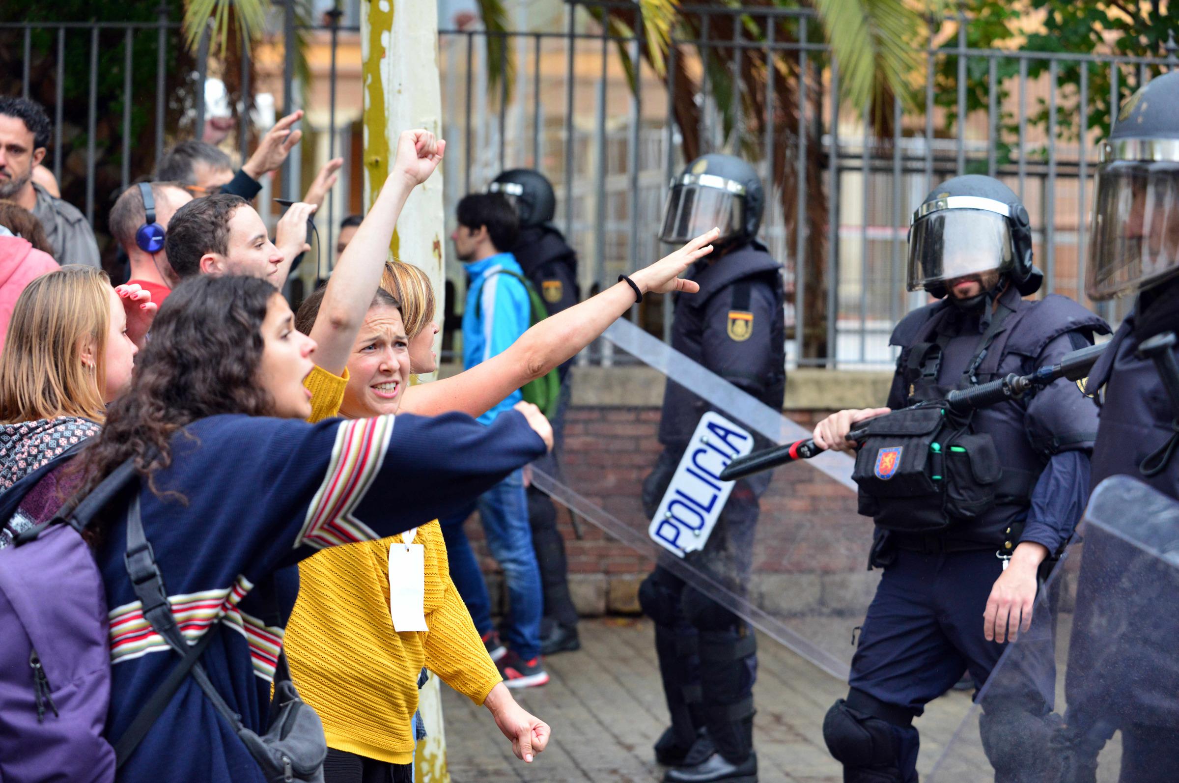 Violencia en Cataluña: ONU pidió investigación