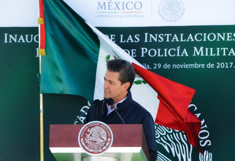 Celebra Peña Nieto tratado para prohibir armas nucleares