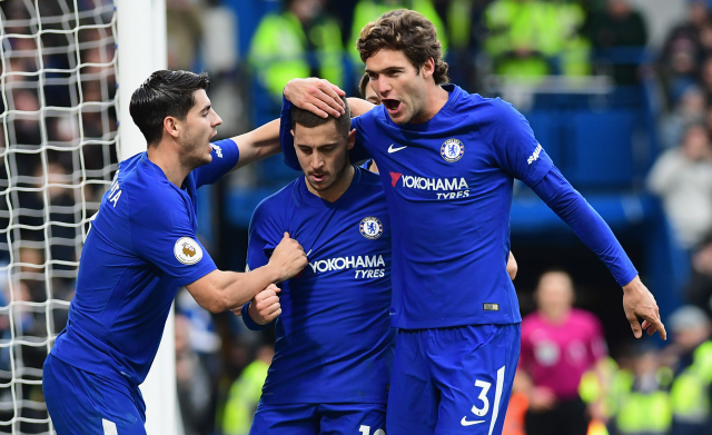 (VIDEO) Hazard guía al Chelsea en su remontada ante el Newcastle