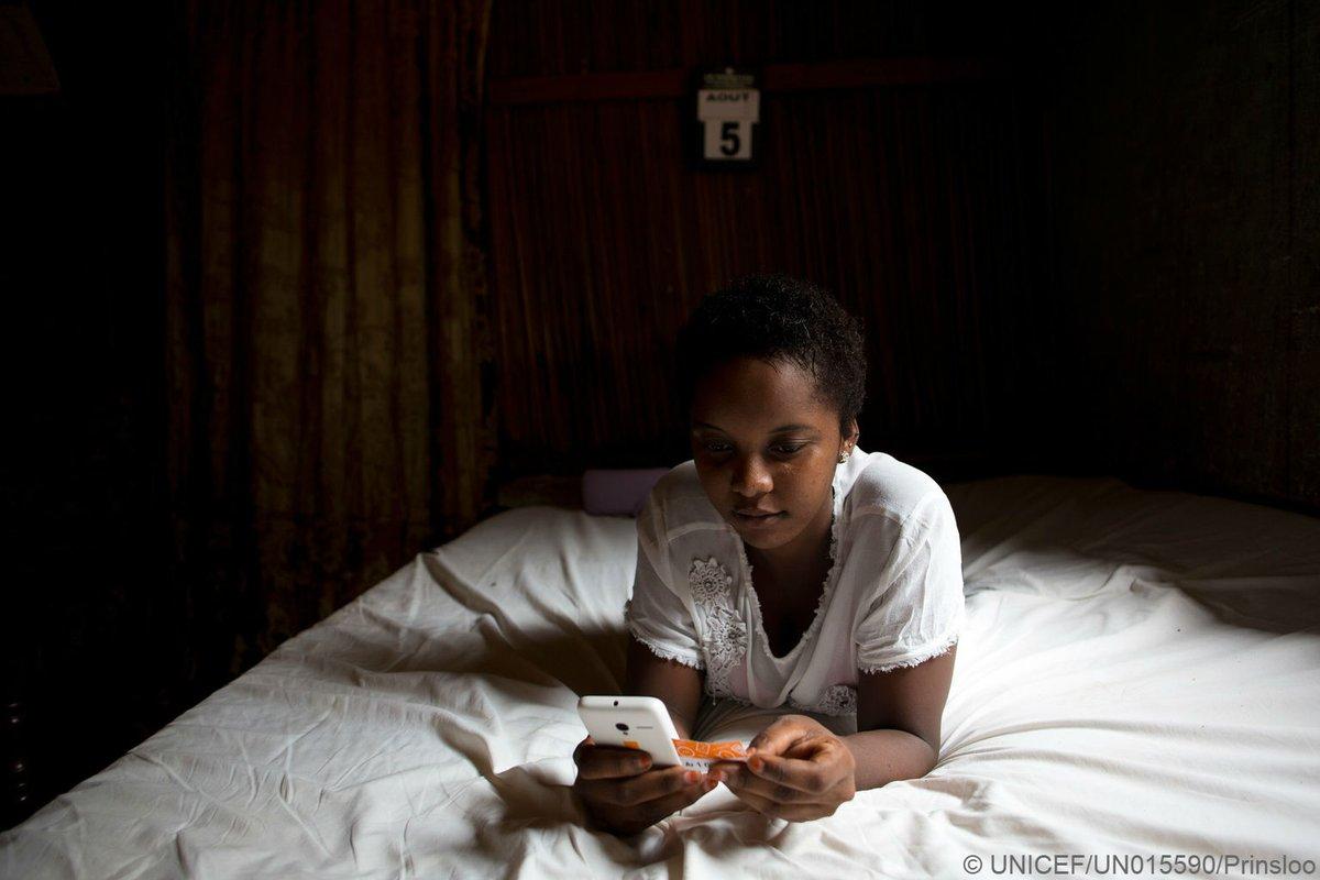Unicef pidió proteger a los chicos del mundo digital