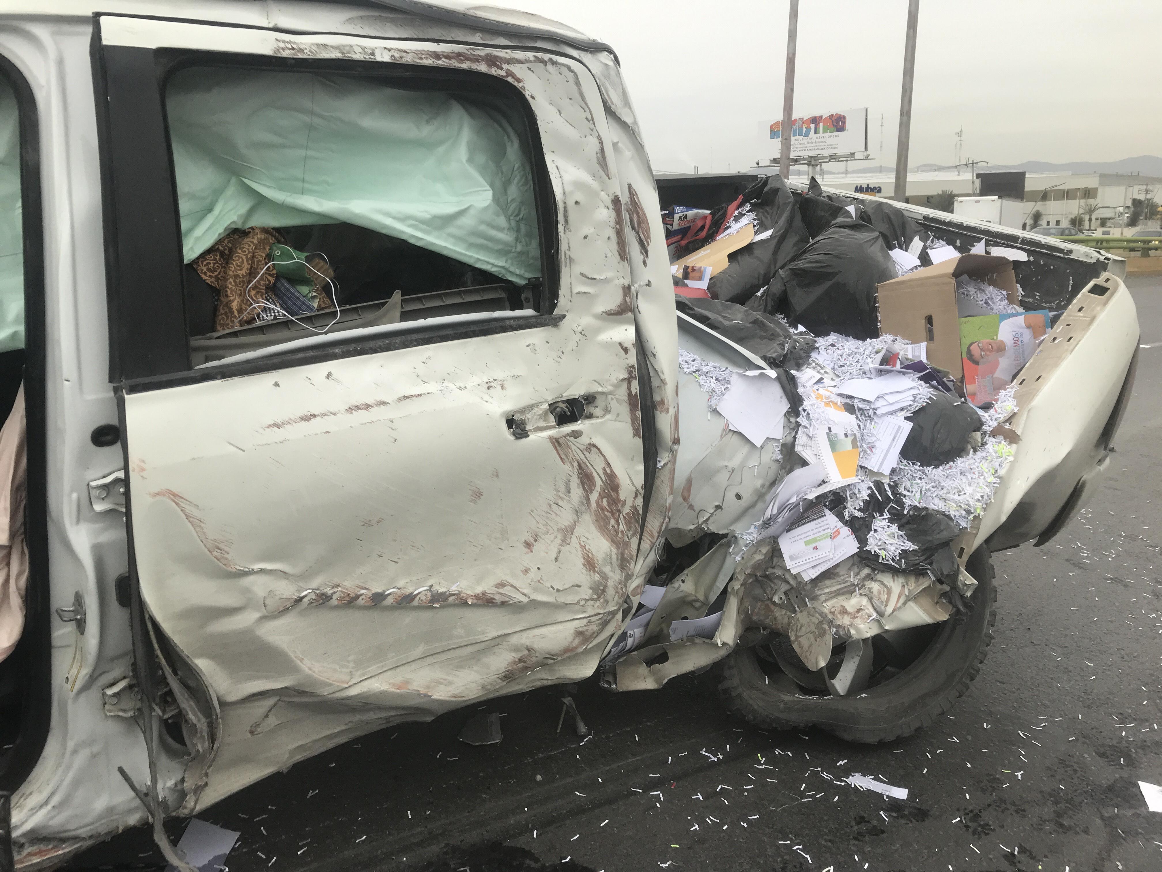 Accidente carretero deja 6 muertos y 18 heridos en Guanajuato